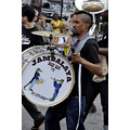mermaid parade coneyisland brooklyn newyork drum musician