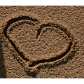 valentinefriday sand heart