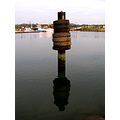 surface reflection Marina Park Miri Sarawak