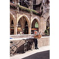 munich travel marienplatz bike oldman newspaper velvia