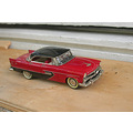 whitemetal car model 143 scale toy plymouth belwedere 1956 conquest