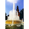 travel milan landscapes fountain
