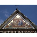 italy orvieto architecture church gable italx orvix gabli archi churi