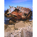 Ship Wreck at Lands End.