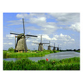 Holland Kinderdyk windmills