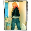 sasparella girl model blonde portrait toilet bathroom _copyright _commercial
