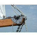 wood steel sailing
