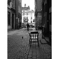 That lonely chair..and those beautiful cobblestones in Old Town..