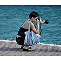 msnoordam cruise ship woman photographer stthomas usvi
