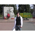 This is me in a park in Yaroslavl City, 08 May 2005