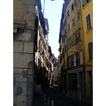 narrow street architecture