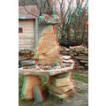 anaglyph 3D stereo rocks garden stones collection