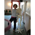 teacher skeleton yoga
