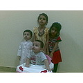 Yousuf with friends