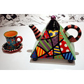 kettle cup ceramic colorful