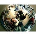 bookstore prague people selfportrait mirror reflection