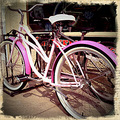 cancer cure Komen pink bicycle colgdrew