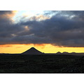 Keilir Iceland mountain sunset