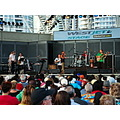 At 7:41pm.At Harbourfront-West Jet Stage-Toronto,Ont.,On Saturday,Aug.3,2013-they had musical gue...