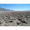 Devil's Golf Course is a large salt pan on the floor of Death Valley