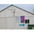 reichek sign arrow barn paintings poster reichekfph1