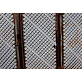 chainlink fence white rust corrosion