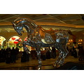 Las Vegas vacation Bellagio mirror horse statue