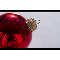 christmas ball bowl gold red reflection me xmas