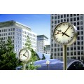 clock clocks canary wharf canarywharf london