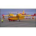 yellow plane airplane aircraft man airport colour color iceland new