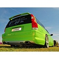 Vallakra Carmeet 30 Year 2012 Green Pearl Volvo V 70 Rear Skane Sweden