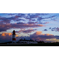 Lighthouse sunset Northern England