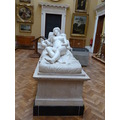 in the art gallery at port sunlight. the artwork and treasures that are in there!!