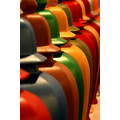 Art ARCO Colors Bottles Hues Wood Repetition