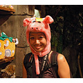 Me in piggy hat.