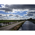 holland boskoop landerijen wolken clouds farmlands