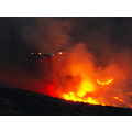 Hazardous Flight CDF Stoof Drops Retardant Wildfire California Riverside County