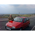 Here is another digital photo frm the past. A Picture of my mum in 1999 when I got her a fiat pun...