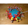 pin cushion sewing fabric pins needles thread craft hobby
