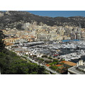 monaco harbour ariel shot F1 boats