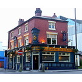 Birmingham City Metro England People Pub Bar