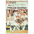 stlouis missouri usa baseball cardinals wild card playoffs NLDS 100811