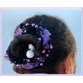 hair ornament cruise older woman