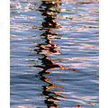 reflection sea abstract minimal ripple