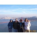 Some friends and I in SF in November of 2000, watching a hawk migration