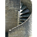 steps staircase stairs stone spiral mevagissey cornwall