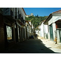 this is a street from Tomar... it is a beutifull city and you can see a castle from here...