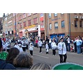 cheerleaders StPatricksDay parade Birmingham England