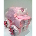 Girl Car Diaper Cake