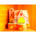 Pakistan Home Golden House Shelter Beautiful Building Toy Kids Great Door